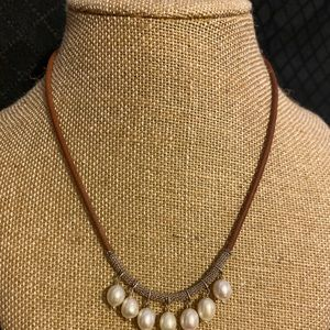 "Silpada ""Peals of Wisdom"" Necklace"